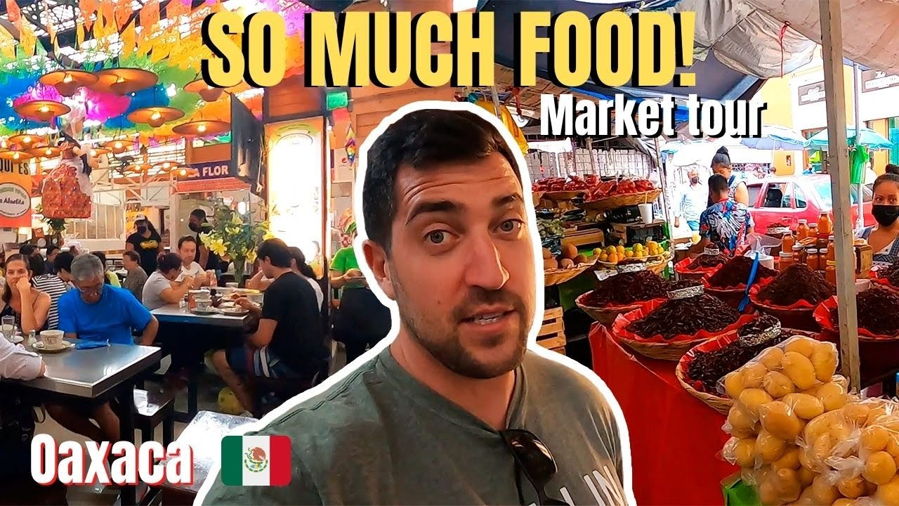 Oaxacan Food (Best or Worst in Mexico??) 🇲🇽