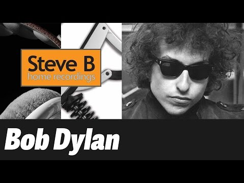 Chimes of Freedom - with Chords and Lyrics - Bob Dylan/Springsteen - Cover - 2016 - by Steve.B