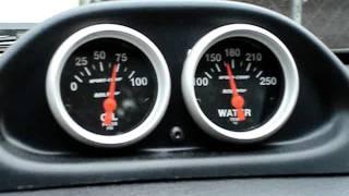 auto meter gauges clock pod