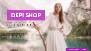DEPI SHOP Весна Лето 2020 Женская Одежда Оптом из Турции Лалели