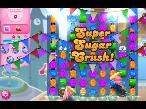 Candy Crush Saga Level 7007 (3 Stars, No Boosters)