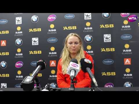Caroline Wozniacki | 2017 ASB Classic Pre Tournament Interview