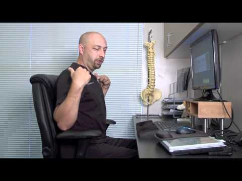 Expert Chiropractor Dr. Chance Moore Shows How To Fix Poor Office Posture