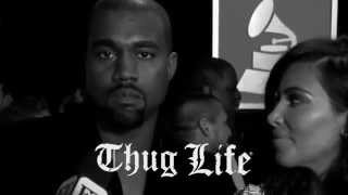 "Kanye West Thug Life Grammy's ""I'm Extremely Happy. Can You Tell By My Face?"""