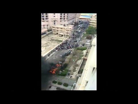 شاهد: اللحظات الأولى لانفجار الإسكندرية الذي استهدف سيارة مدير الأمن…