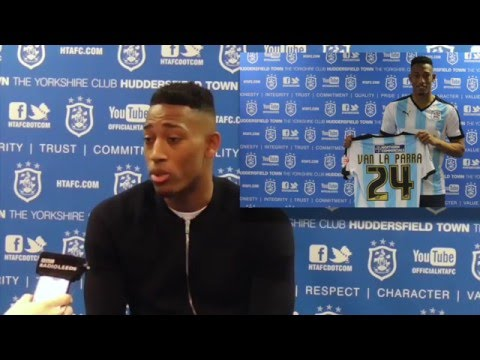 INTERVIEW: Rajiv Van La Parra joins Huddersfield Town