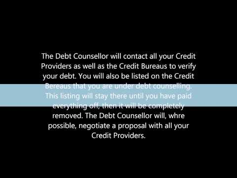 What is debt counselling or debt review?