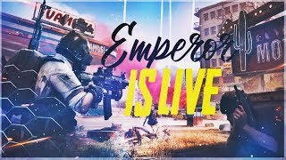 🔴PUBG MOBILE - H¥DRA | EMPEROR - We are Back! -  LIKE & SUBSCRIBE. 👣💣🔫