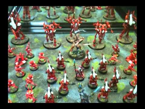 OLD (5th Ed) Eldar Tactics: Foot Eldar Tournament Army
