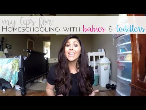 My tips for homeschooling with babies and toddlers