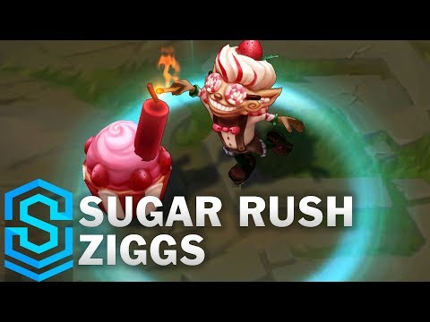Sugar Rush Ziggs Skin Spotlight - League of Legends