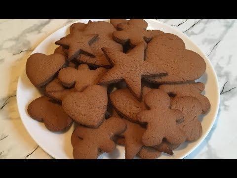 ДЕТСКОЕ ФИГУРНОЕ ПЕЧЕНЬЕ Проще Не Бывает / Шоколадное Печенье / Chocolate Cookies