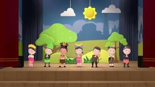 Lagu Untuk Anak : Aku Cinta Indonesia - Karaoke