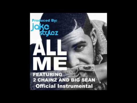 Drake - All Me [Official Instrumental] (No Tags) {High Quality}