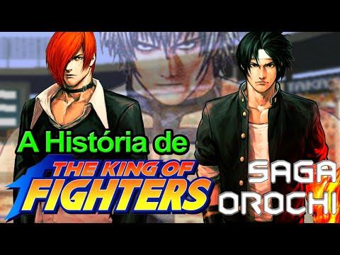 A História de The King Of Fighter - 1/3 - Saga Orochi