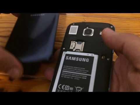 Disassemble desmontar samsung Galaxy core gt-i8260