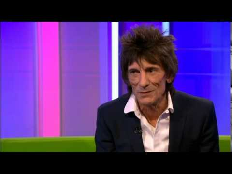 Ronnie Wood has Senior Moment  ' How Can it Be' rock and roll diary interview