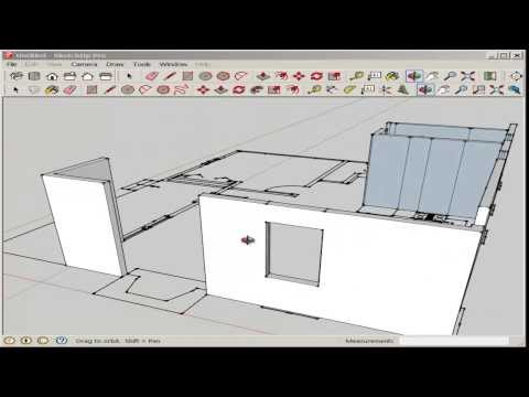 SketchUp: Import And Model An AutoCAD Floor Plan