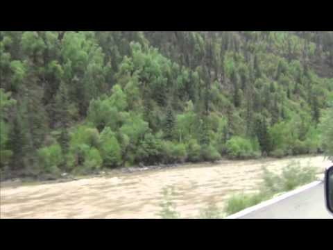 Tibet Yangtze River headwaters Hucho bleekeri Kimura Corpse found site