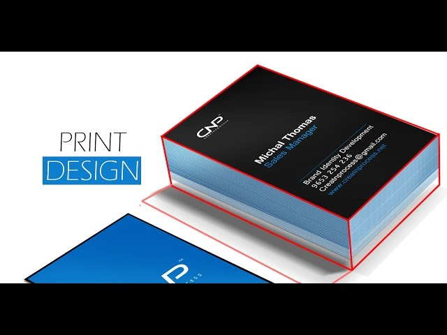 Print Design - Adobe Photoshop cc (Template) - II