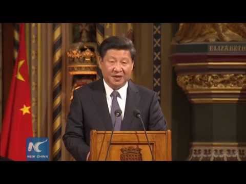 Chinese president: China, UK become community of shared interests