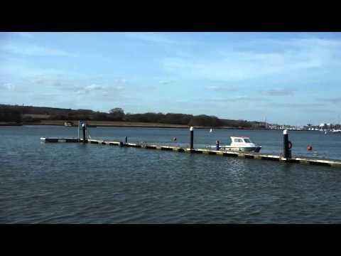 Medina River next to Island Harbour Marina - Isle of Wight