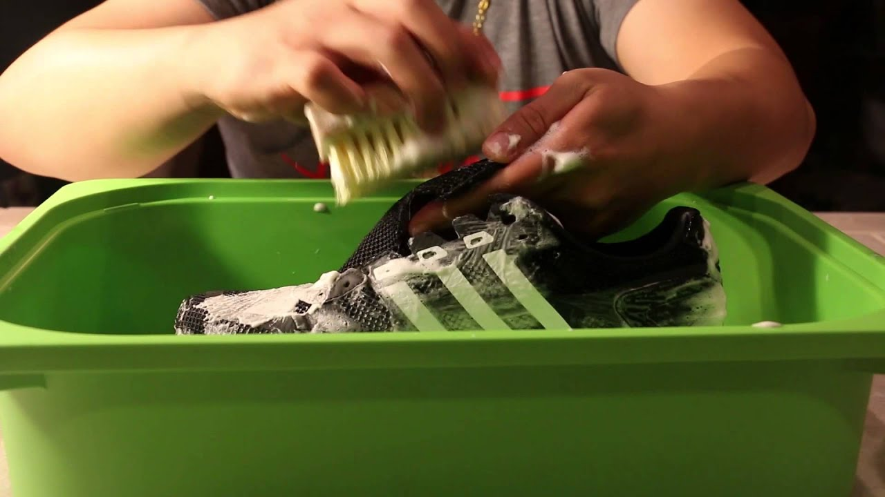 Boost Youtube Shoe Markk With Jason Cleaner Cleaning Adidas Adios g76yYbf