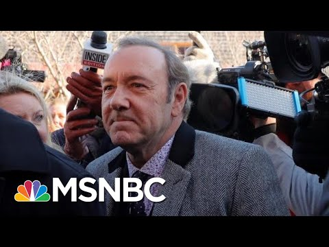 Legal Analysis: Following Court Appearance, What's Next For Kevin Spacey? | Craig Melvin | MSNBC