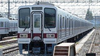 【半蔵門線直通 東武30000系 31606F+31406F 復活の兆し】使用休止中札 取り外され10両に組まれて留置。元JR北海道 14系 急行はまなす客車 残り3両 屋外に。