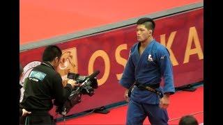 大野将平vs海老沼匡  グランドスラム柔道 大阪2018 男子73kg級決勝+表彰式 Judo/ Shohei Ono
