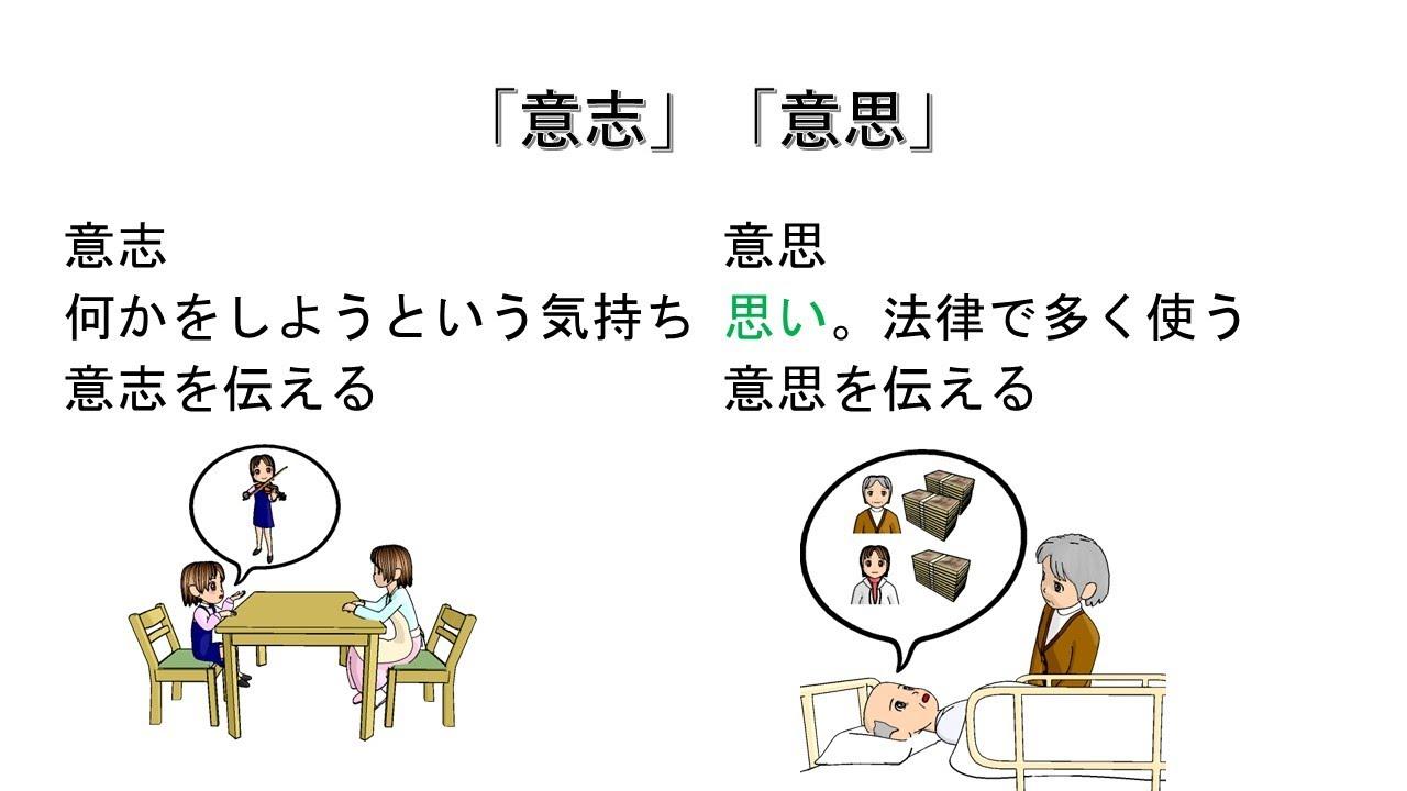 意志 意思 辨析:「意思」和「意志」的区别