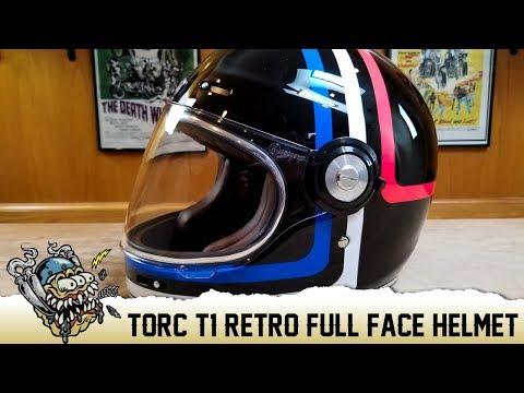 e034c5c4 Torc T-1 Retro Full Face Motorcycle Helmet Overview - DeadbeatCustoms.com -  YouTube