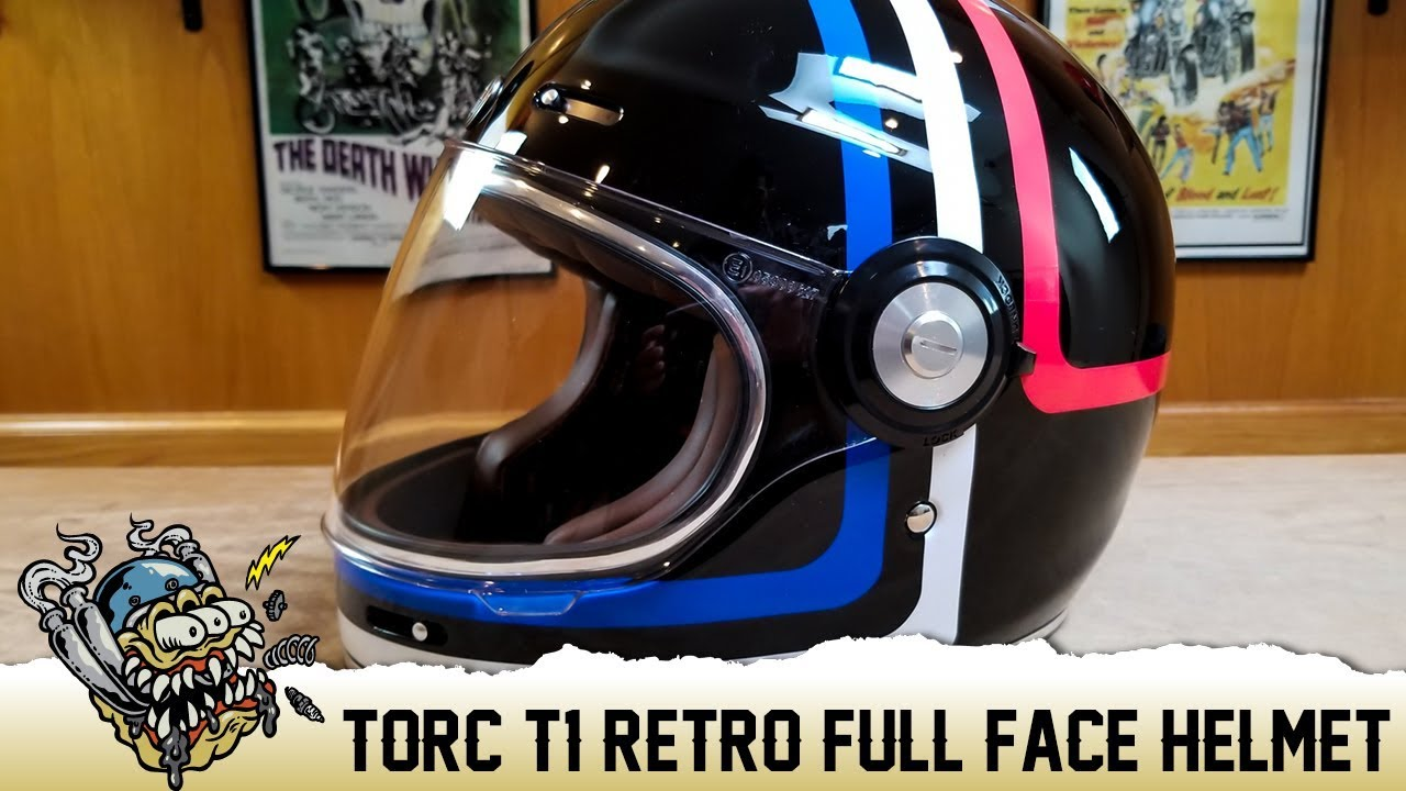 7626bd7b Torc T-1 Retro Full Face Motorcycle Helmet Overview - DeadbeatCustoms.com