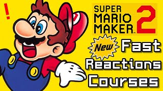 Super Mario Maker 2 Top 8 Newest FAST REACTIONS Courses (Switch)