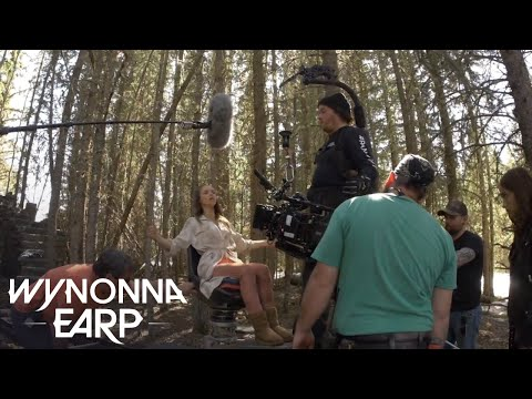 WYNONNA EARP | Behind The Scenes: Seeing Double And Holler Back, Girl | SYFY