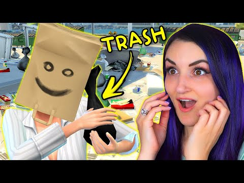 I Created GARBAGE WORLD ... In The Sims 4 Eco Lifestyle