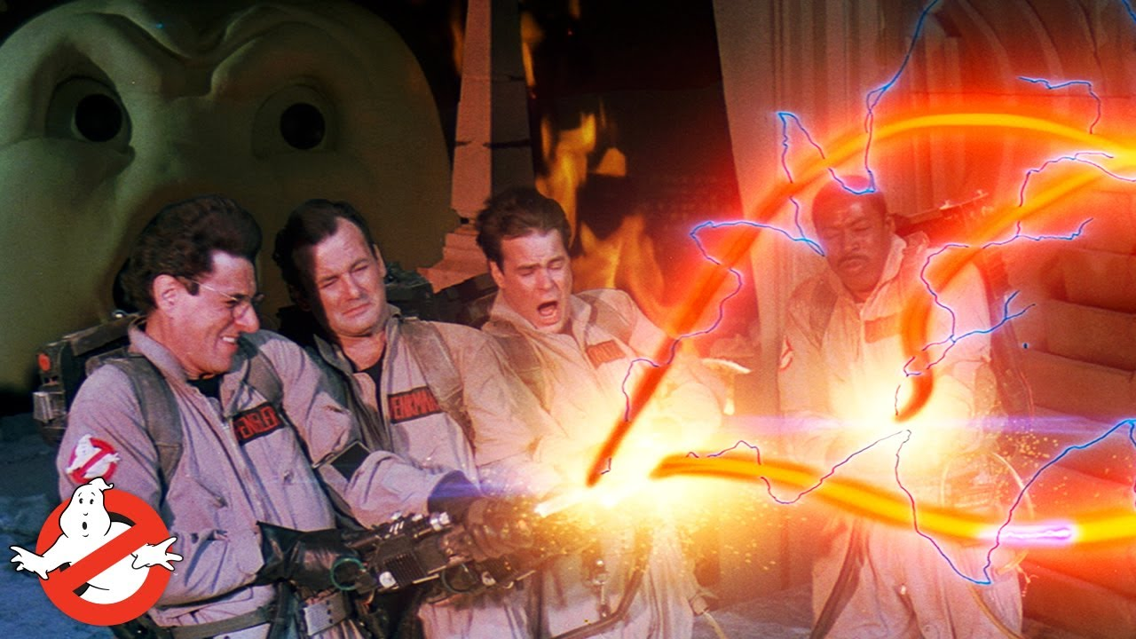 Effects Come to Life: Crossing The Streams | GHOSTBUSTERS - YouTube