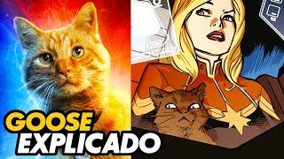 Explicación del gato de la Capitana Marvel | Goose/Chewie y los Flerken
