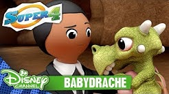 SUPER 4 - Clip: Babydrache | Disney Channel
