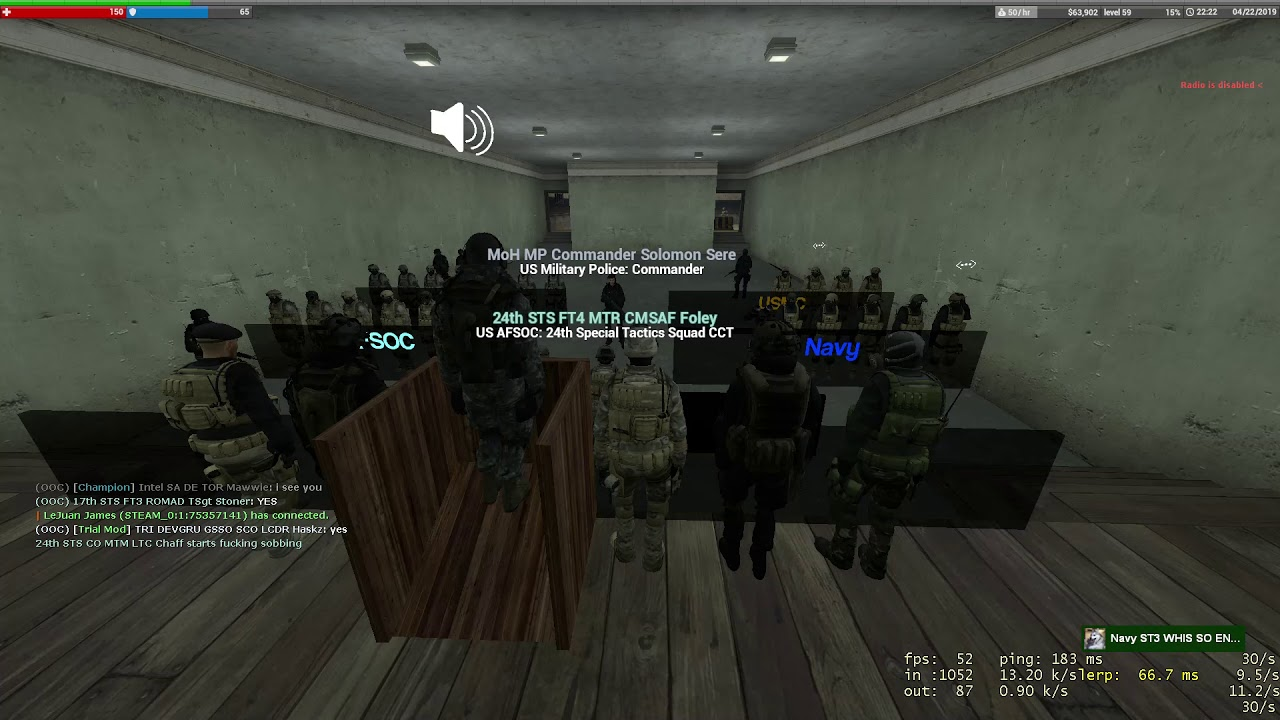 VOLUME WARNING) Icefuse Military RP Singing Contest by Azzerxzz