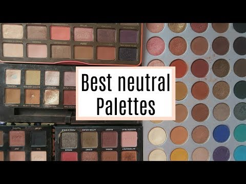 TOP 5 BEST NEUTRAL EYESHADOW PALETTES! | DramaticMAC