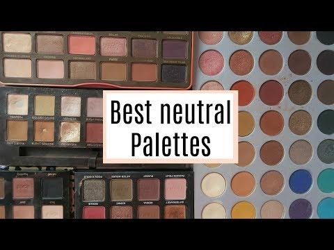 TOP 5 BEST NEUTRAL EYESHADOW PALETTES! | DramaticMAC thumbnail