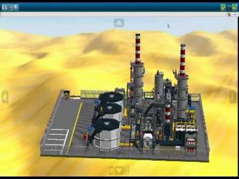 LDD Lego Refinery YouTube