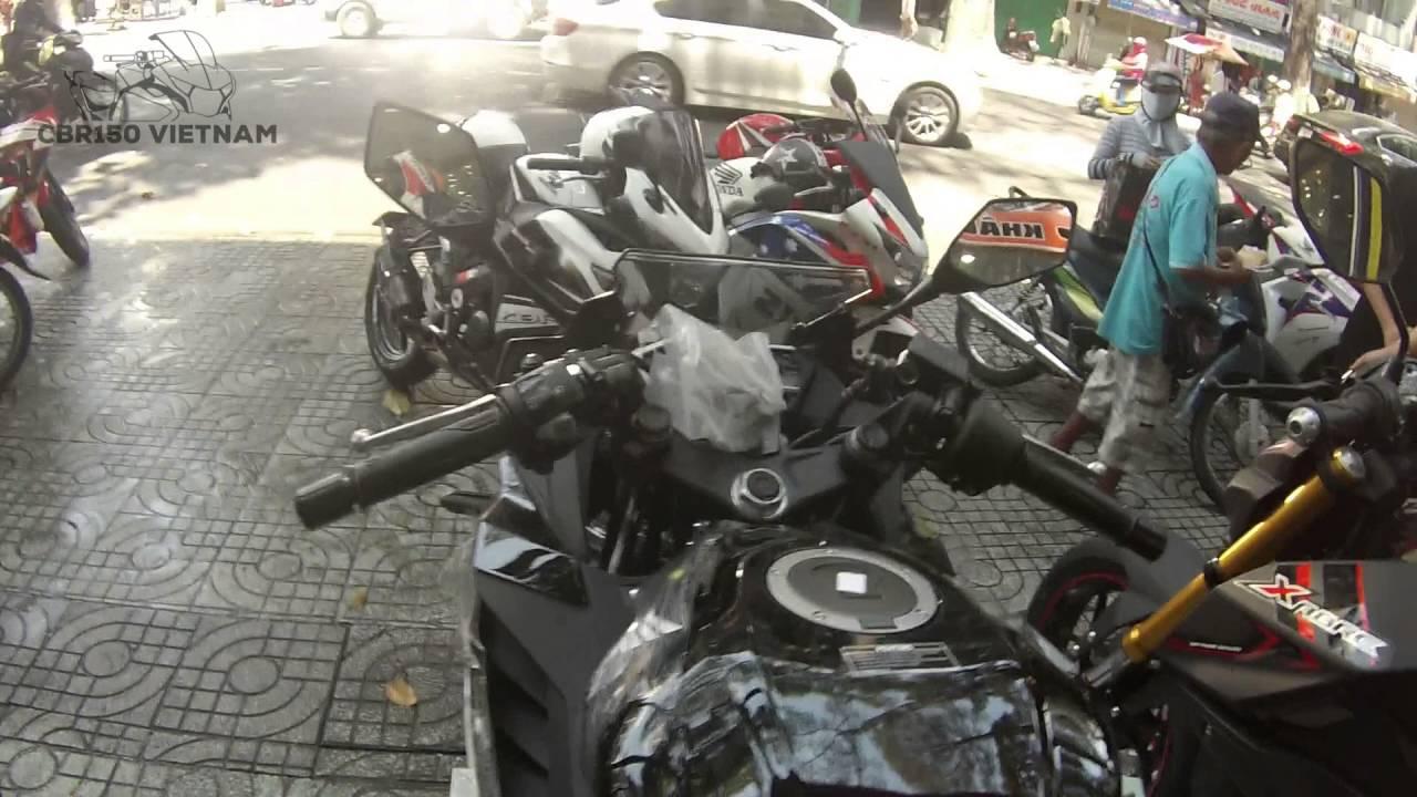 Cbr150 2016 In Viet Nam All New Cbr 150r Slick Black White Jakarta