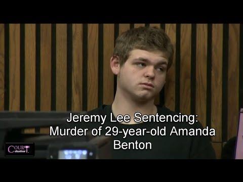 Jeremy Lee Sentencing 03/13/17