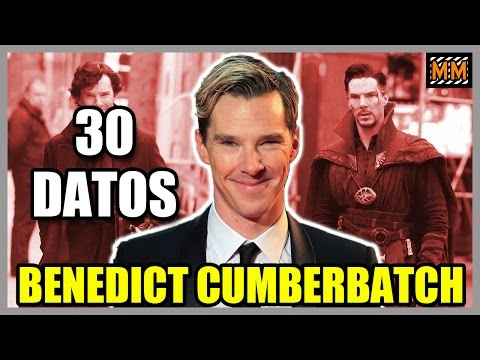"30 Curiosidades sobre ""BENEDICT CUMBERBATCH"" - (Sherlock - Doctor Strange) - |Master Movies|"