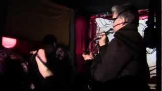 LLUVIA ACIDA + JORGE BARADIT: Policía del Karma (en vivo en BAR UNO, Stgo. 2012)