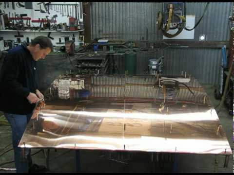 Making a Copper Awning by Glenn's Metal Works