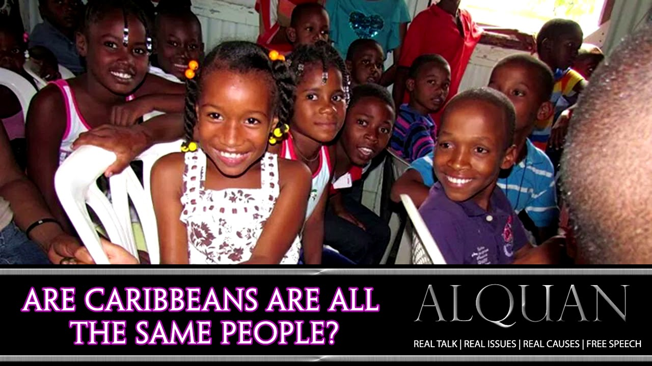 Are Caribbeans the same people?