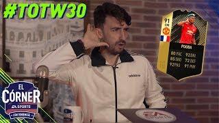 TOTW30 | ¡VUELVE EL CRACK ARGENTINO! Pogba, Eriksen, Iago Aspas… | FIFA18 | El Córner